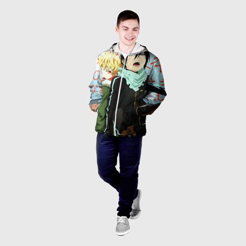 Мужская куртка 3D  Фото 03, Бездомный бог