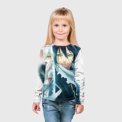 Детский лонгслив 3D  Фото 03, Бездомный бог