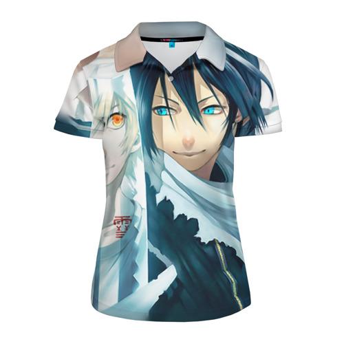 Женская рубашка поло 3D  Фото 01, Бездомный бог