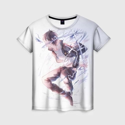 Женская футболка 3D Бездомный бог Фото 01