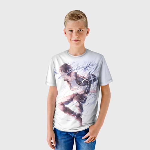 Детская футболка 3D Бездомный бог