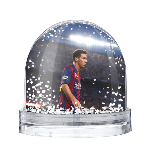 Водяной шар со снегом Messi
