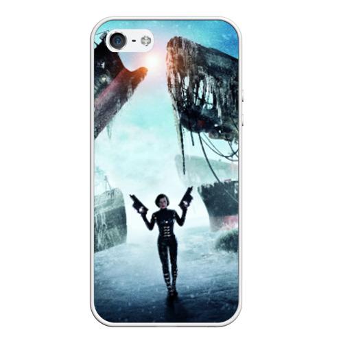 Чехол силиконовый для Телефон Apple iPhone 5/5S Обитель зла от Всемайки