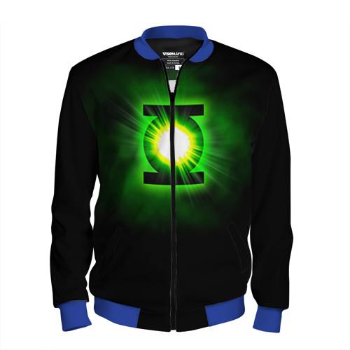 Мужской бомбер 3D Зеленый фонарь
