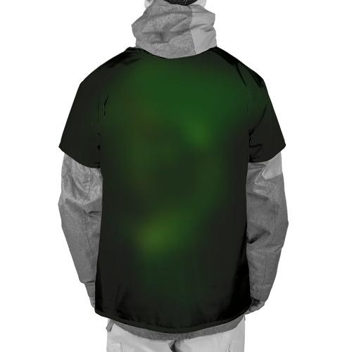 Накидка на куртку 3D  Фото 02, Зеленый фонарь