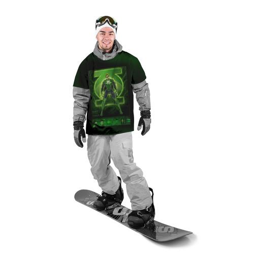 Накидка на куртку 3D  Фото 03, Зеленый фонарь