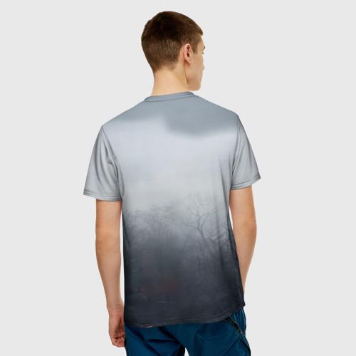 Мужская футболка 3D Ведьмак Геральт Фото 01