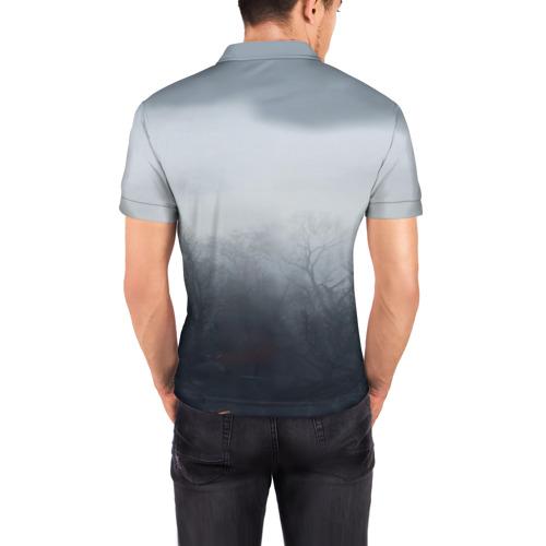 Мужская рубашка поло 3D  Фото 04, Ведьмак Геральт