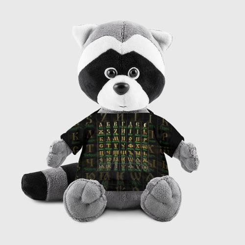 Енотик в футболке 3D Старославянский словарь Фото 01