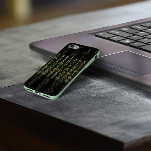 Чехол для Apple iPhone 8 силиконовый глянцевый Старославянский словарь Фото 01
