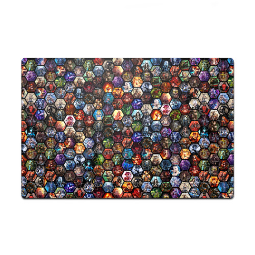 Пазл магнитный 126 элементов Пазл магнитный 126 элементов Dota 2 коллаж соты от Всемайки