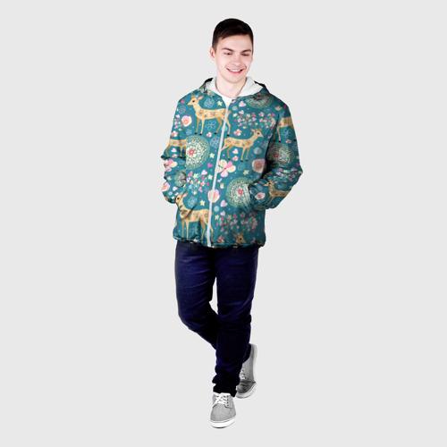 Мужская куртка 3D  Фото 03, Олени