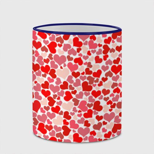 Кружка с полной запечаткой  Фото 03, Сердца, любовь, орнамент, праз