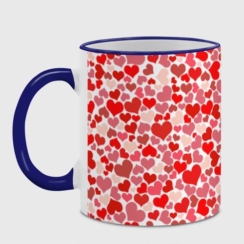 Кружка с полной запечаткой  Фото 04, Сердца, любовь, орнамент, праз