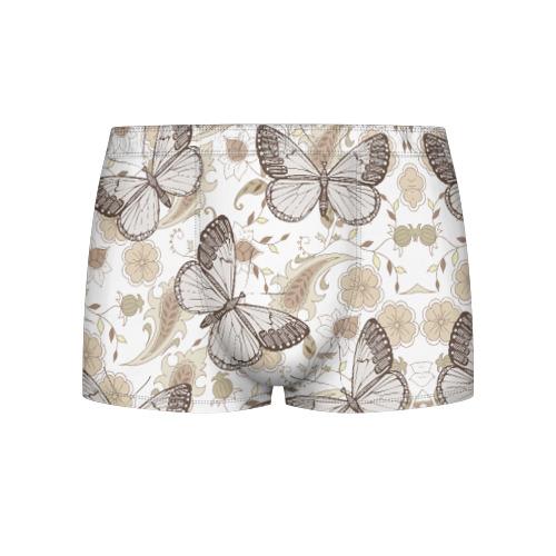Мужские трусы 3D Бабочки от Всемайки
