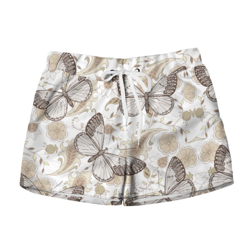 Женские шорты 3D Бабочки