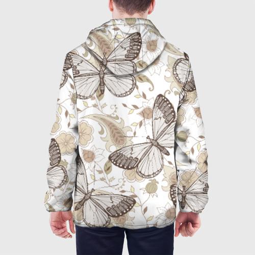 Мужская куртка 3D  Фото 05, Бабочки
