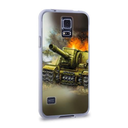 Чехол для Samsung Galaxy S5 силиконовый  Фото 02, Военная техника