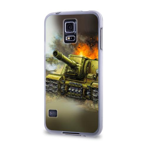 Чехол для Samsung Galaxy S5 силиконовый  Фото 03, Военная техника