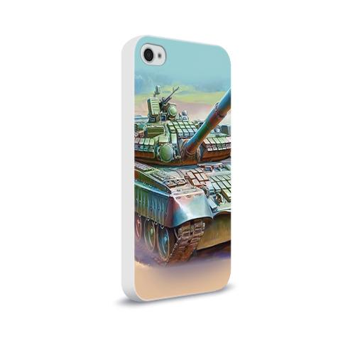 Чехол для Apple iPhone 4/4S soft-touch  Фото 02, Военная техника