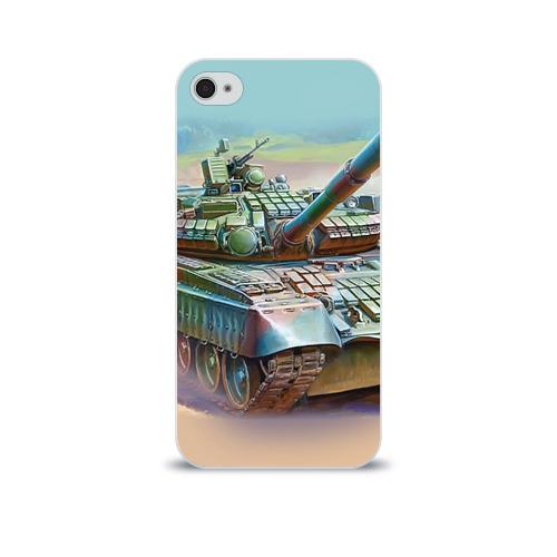 Чехол для Apple iPhone 4/4S soft-touch  Фото 01, Военная техника