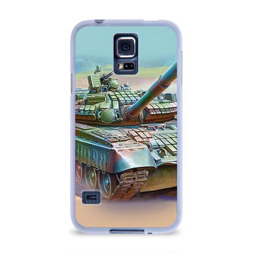 Чехол для Samsung Galaxy S5 силиконовый  Фото 01, Военная техника
