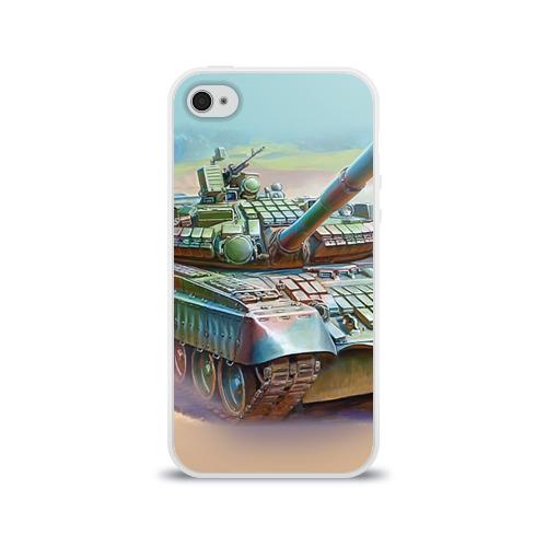 Чехол для Apple iPhone 4/4S силиконовый глянцевый  Фото 01, Военная техника