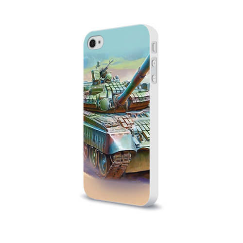Чехол для Apple iPhone 4/4S soft-touch  Фото 03, Военная техника