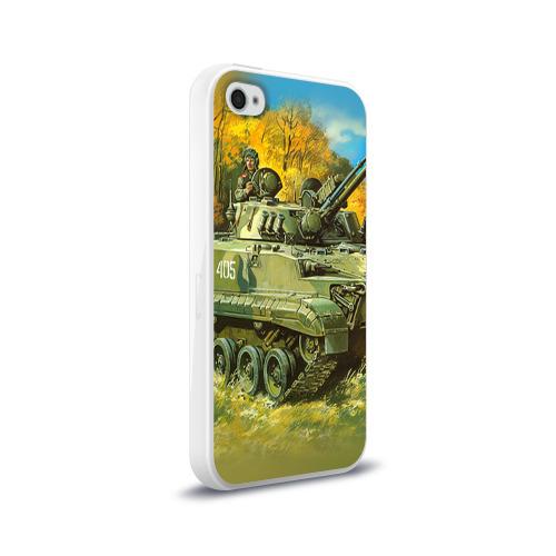 Чехол для Apple iPhone 4/4S силиконовый глянцевый  Фото 02, Военная техника