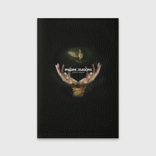 Обложка для паспорта матовая кожа  Фото 01, Imagine dragons