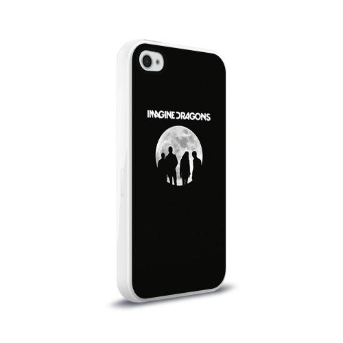 Чехол для Apple iPhone 4/4S силиконовый глянцевый  Фото 02, Imagine dragons