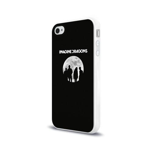 Чехол для Apple iPhone 4/4S силиконовый глянцевый  Фото 03, Imagine dragons