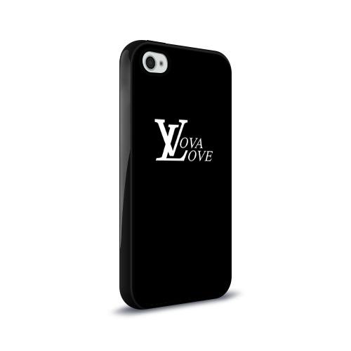 Чехол для Apple iPhone 4/4S силиконовый глянцевый  Фото 02, Vova love