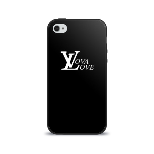 Чехол для Apple iPhone 4/4S силиконовый глянцевый  Фото 01, Vova love
