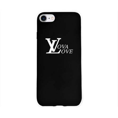 Чехол для Apple iPhone 8 силиконовый глянцевый  Фото 01, Vova love