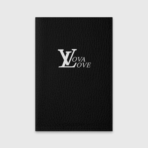 Обложка для паспорта матовая кожа  Фото 01, Vova love