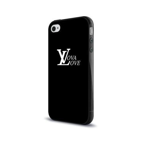 Чехол для Apple iPhone 4/4S силиконовый глянцевый  Фото 03, Vova love