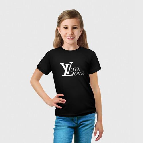 Детская футболка 3D 'Vova love'