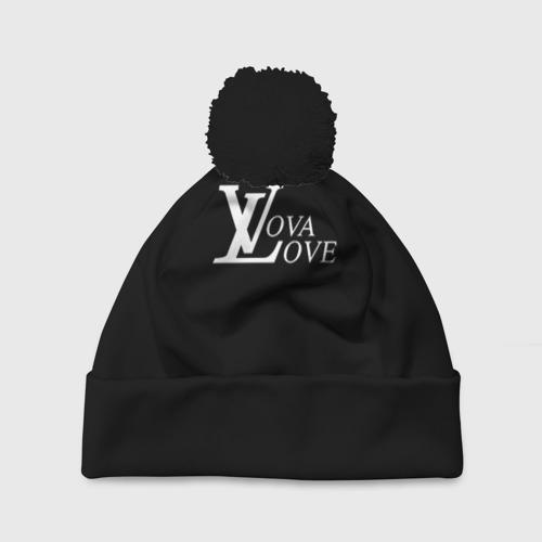 Шапка 3D c помпоном Vova love