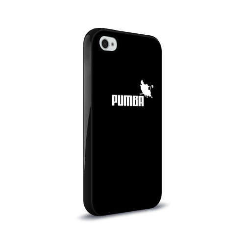 Чехол для Apple iPhone 4/4S силиконовый глянцевый  Фото 02, Pumba