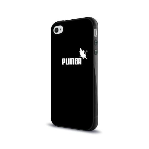 Чехол для Apple iPhone 4/4S силиконовый глянцевый  Фото 03, Pumba