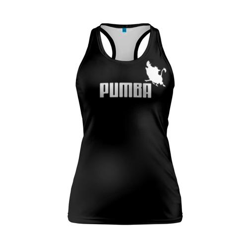 Женская майка 3D спортивная Pumba
