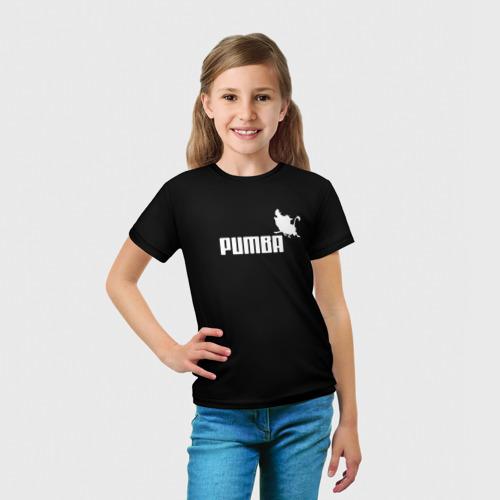 Детская футболка 3D 'Pumba'