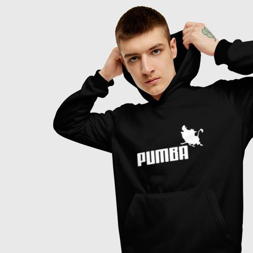 Мужская толстовка 3D Pumba