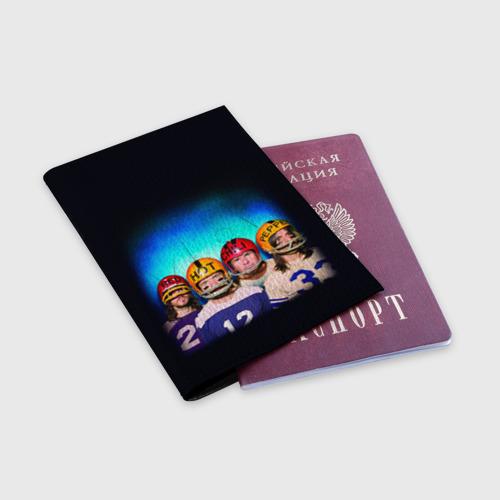 Обложка для паспорта матовая кожа  Фото 03, Red Hot Chili Peppers