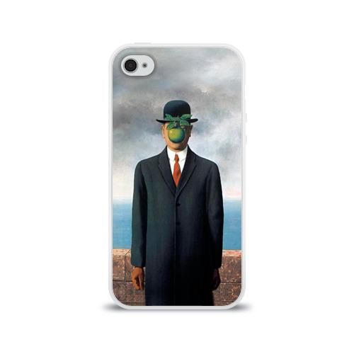 Чехол для Apple iPhone 4/4S силиконовый глянцевый  Фото 01, Сын человеческий