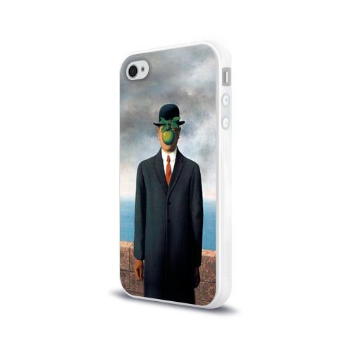 Чехол для Apple iPhone 4/4S силиконовый глянцевый  Фото 03, Сын человеческий