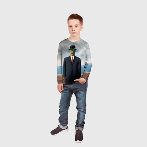 Детский лонгслив 3D  Фото 05, Сын человеческий