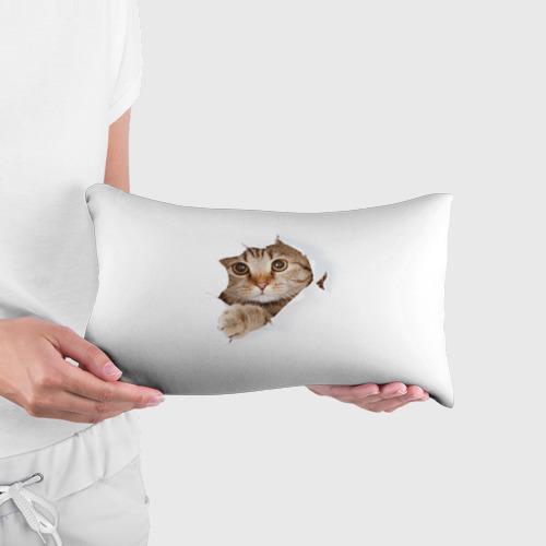 Подушка 3D антистресс Котик Фото 01