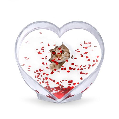 Сувенир Сердце  Фото 02, Котик